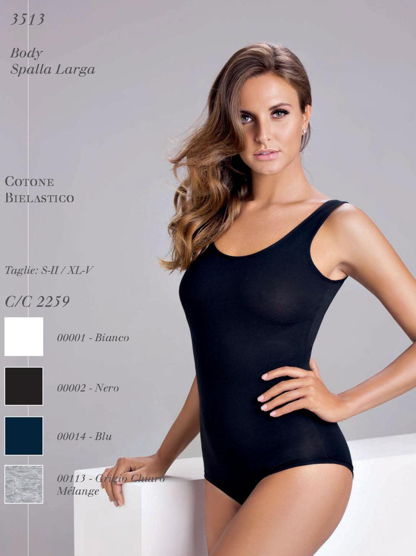 Body donna Cotonella 3513